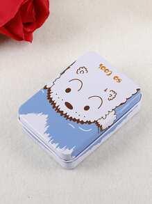 Dog Print Tin Box