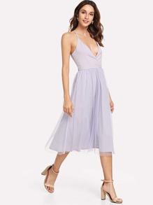 Deep V Neckline Cami Dress