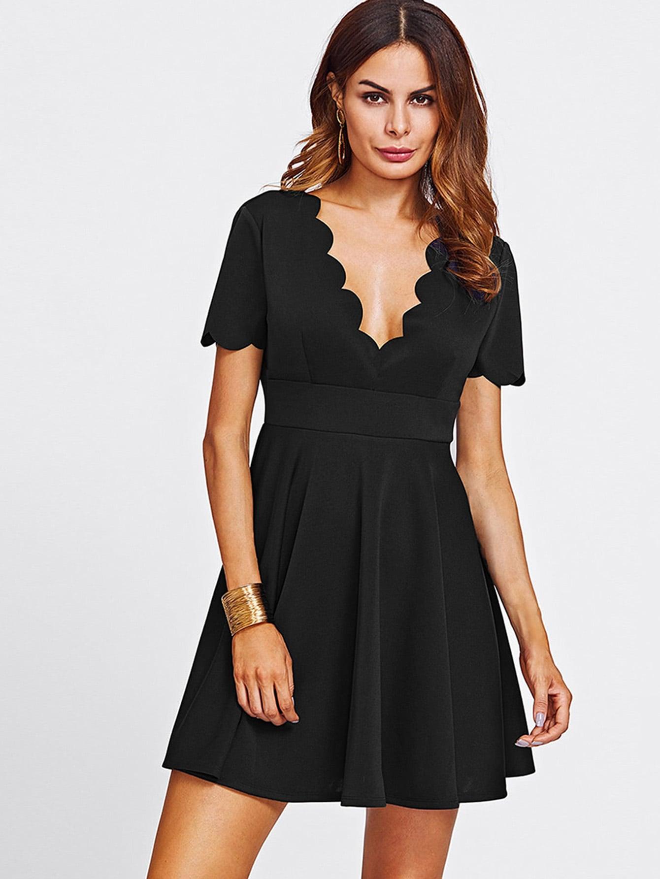 Купить Платье для гребня Fill & Flare, Andy, SheIn