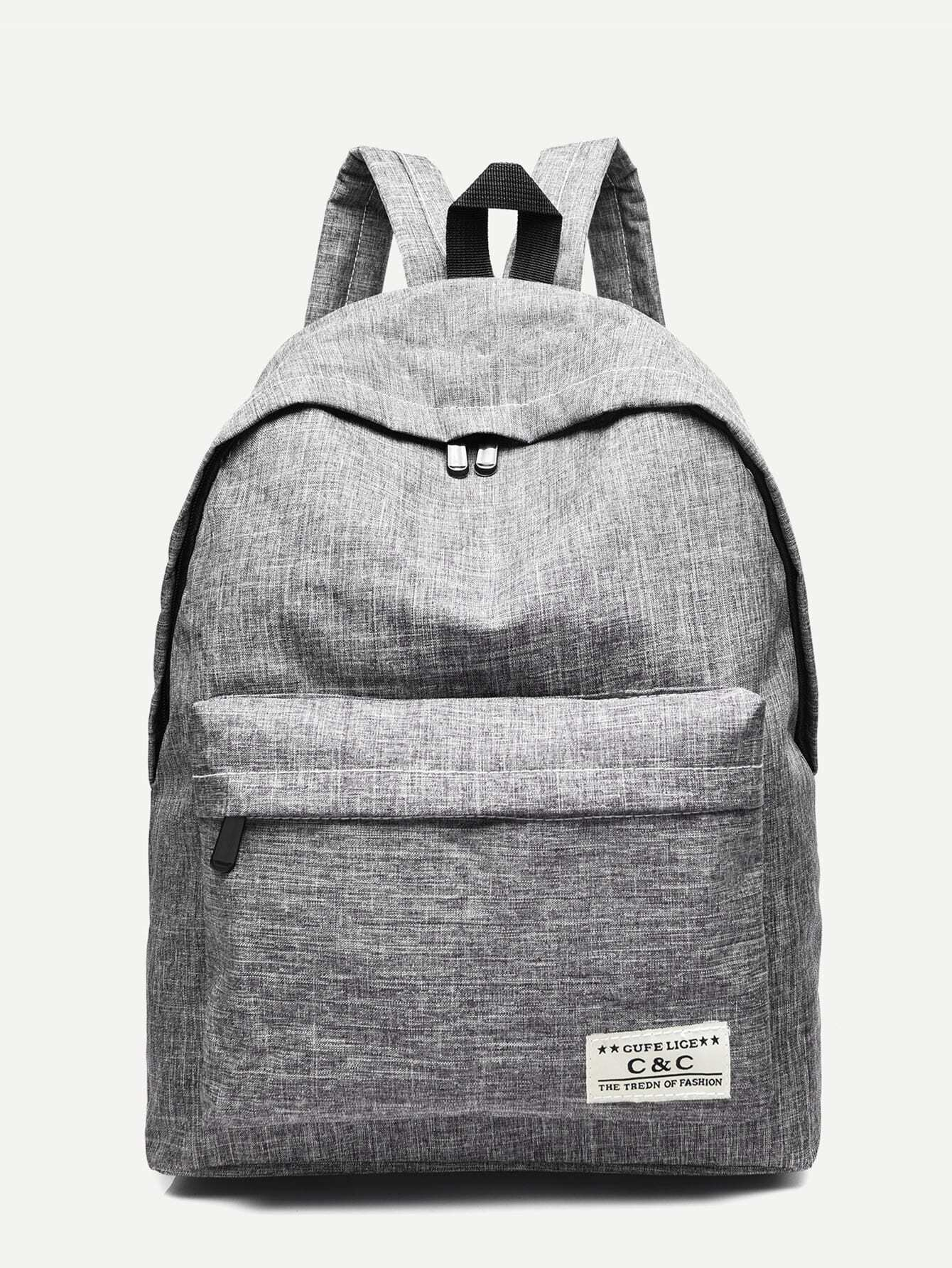 Pocket Front Detail Backpack