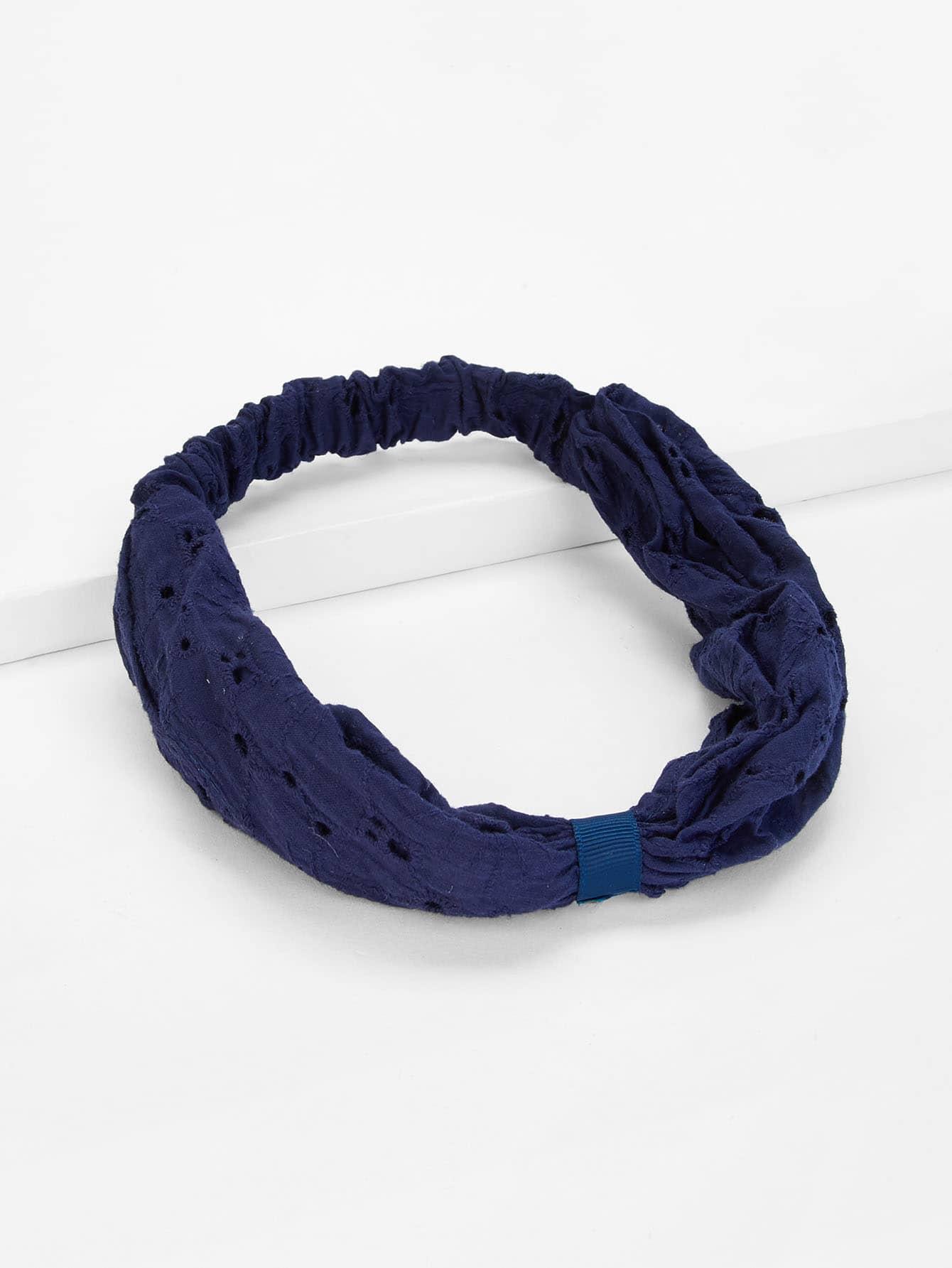 Plain Elastic Headband elastic sporty headband