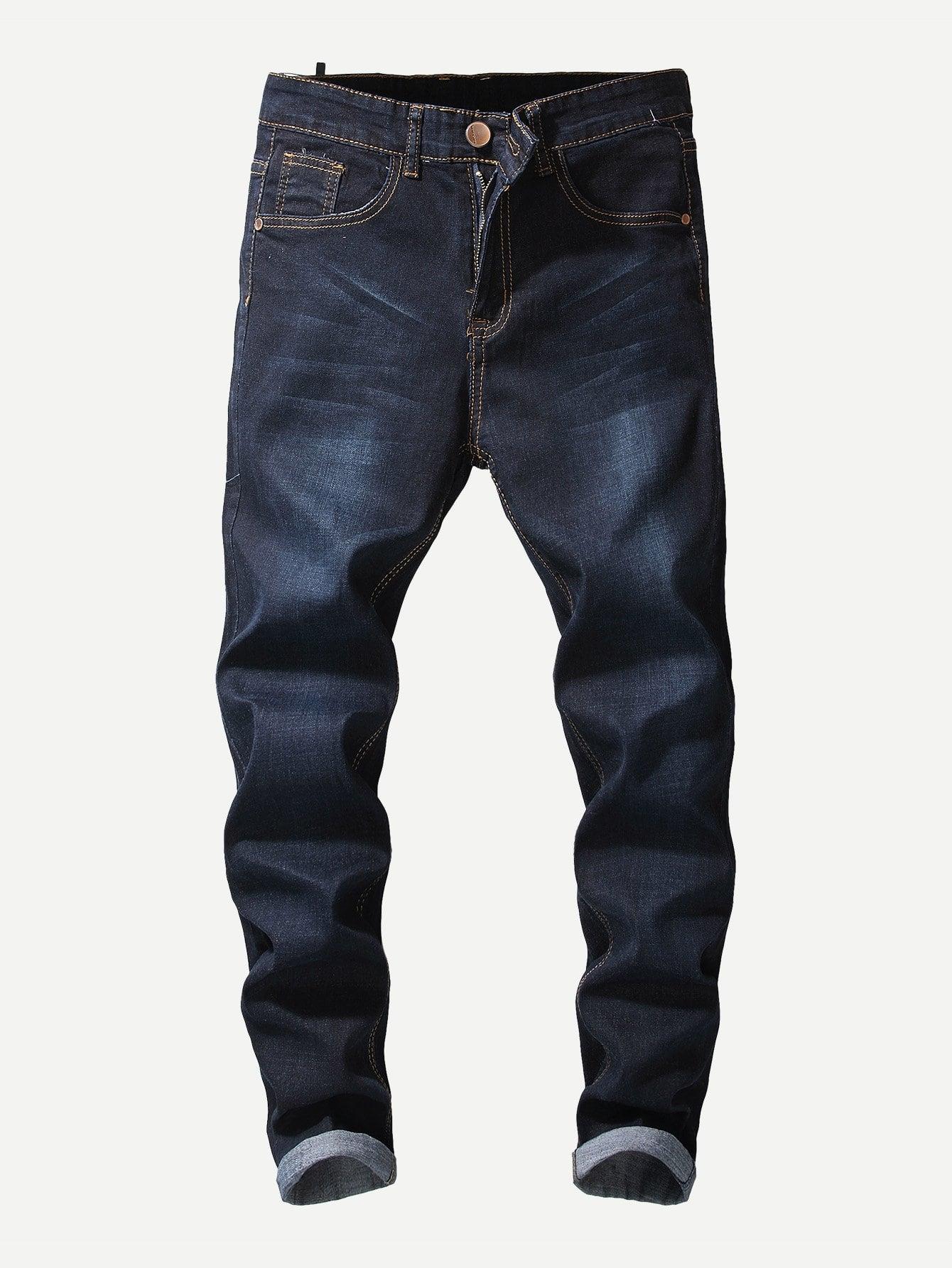 Men Wash Jeans