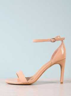 Single Band Patent Stiletto Heel