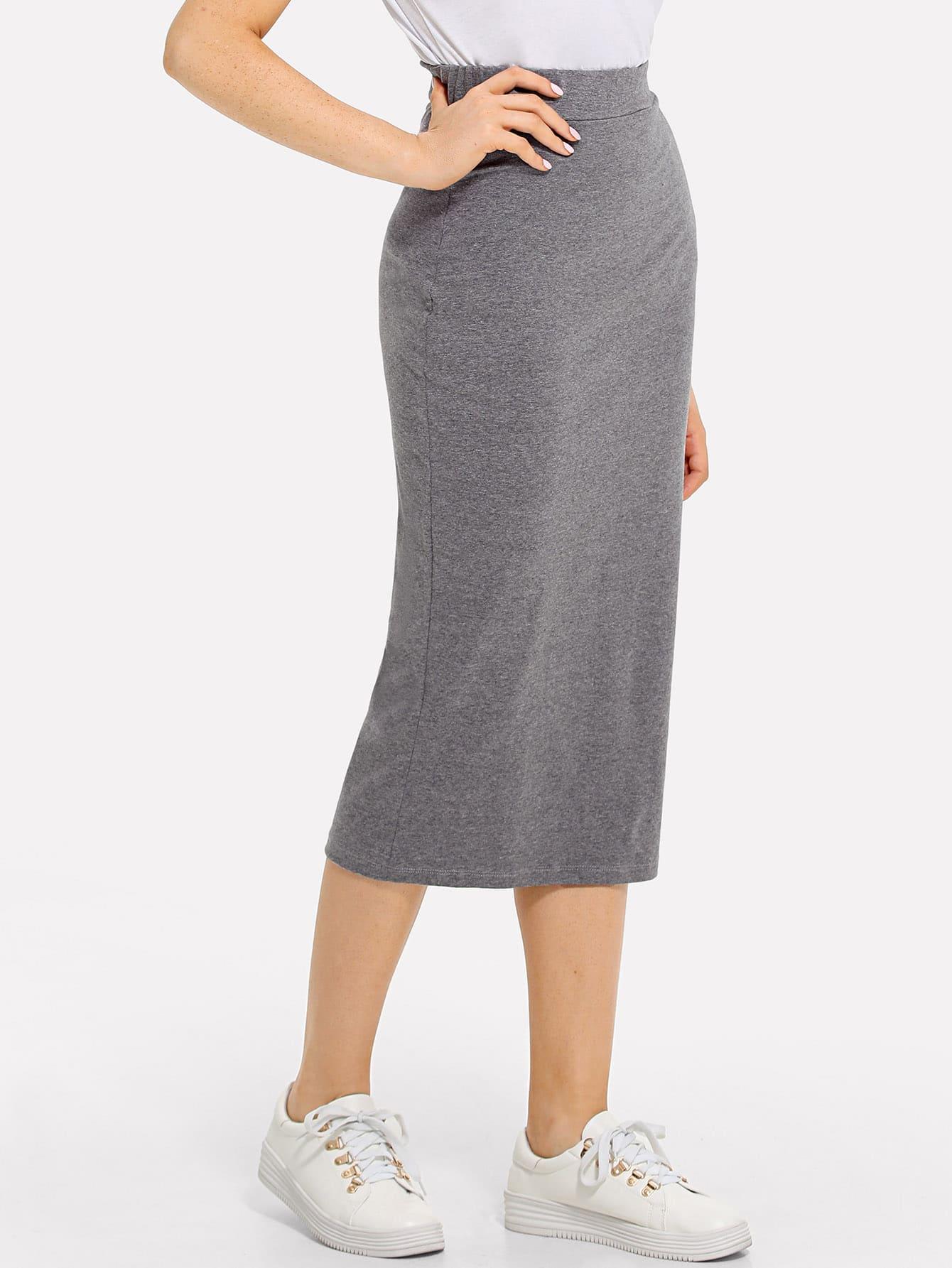 Sheath Midi Skirt