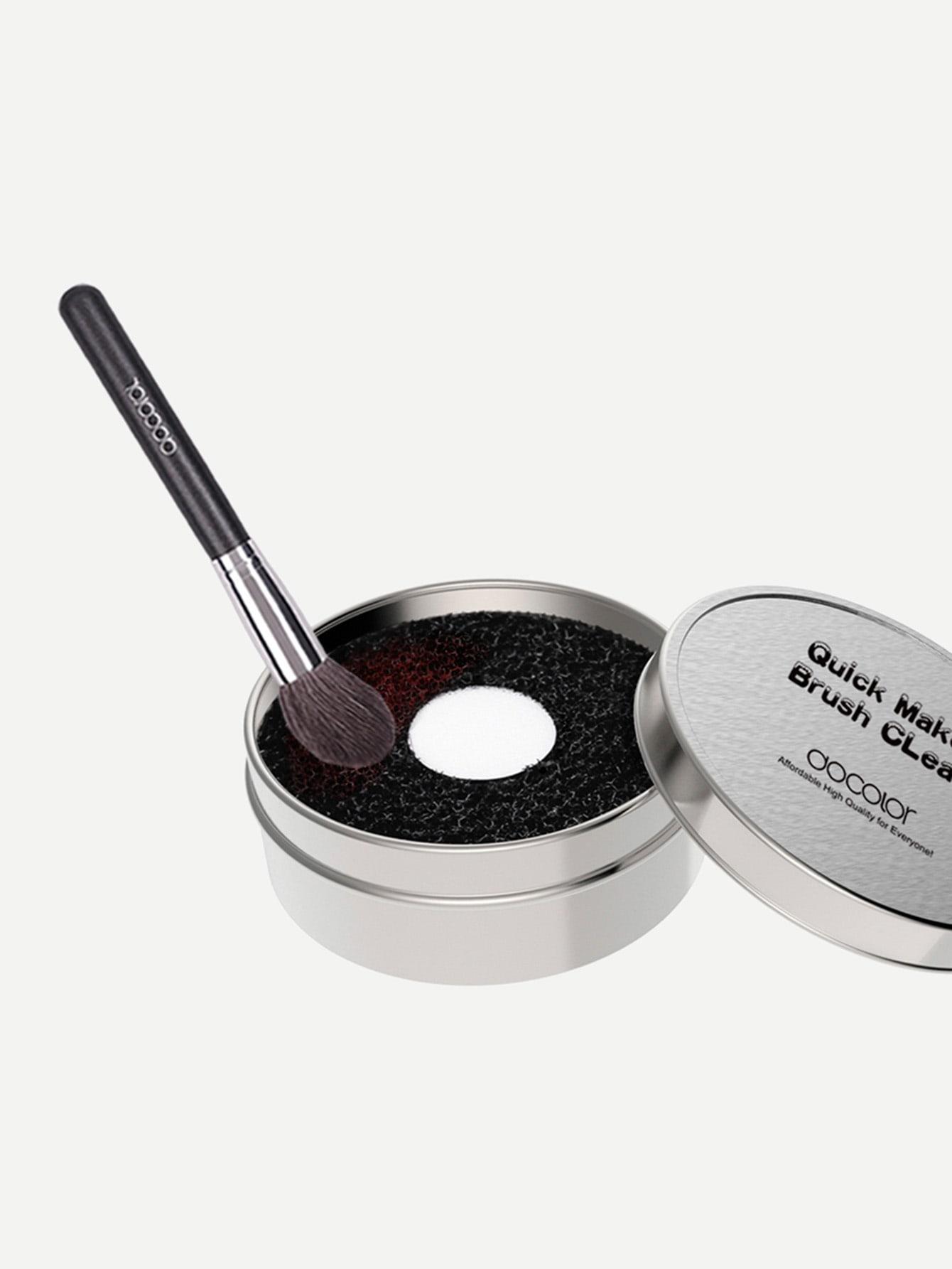 Makeup Brush Sponge Scrub Cleaner Box