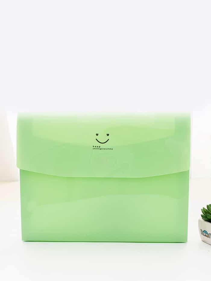 Smile Face File Bag