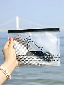 Chick Clear Pencil Case