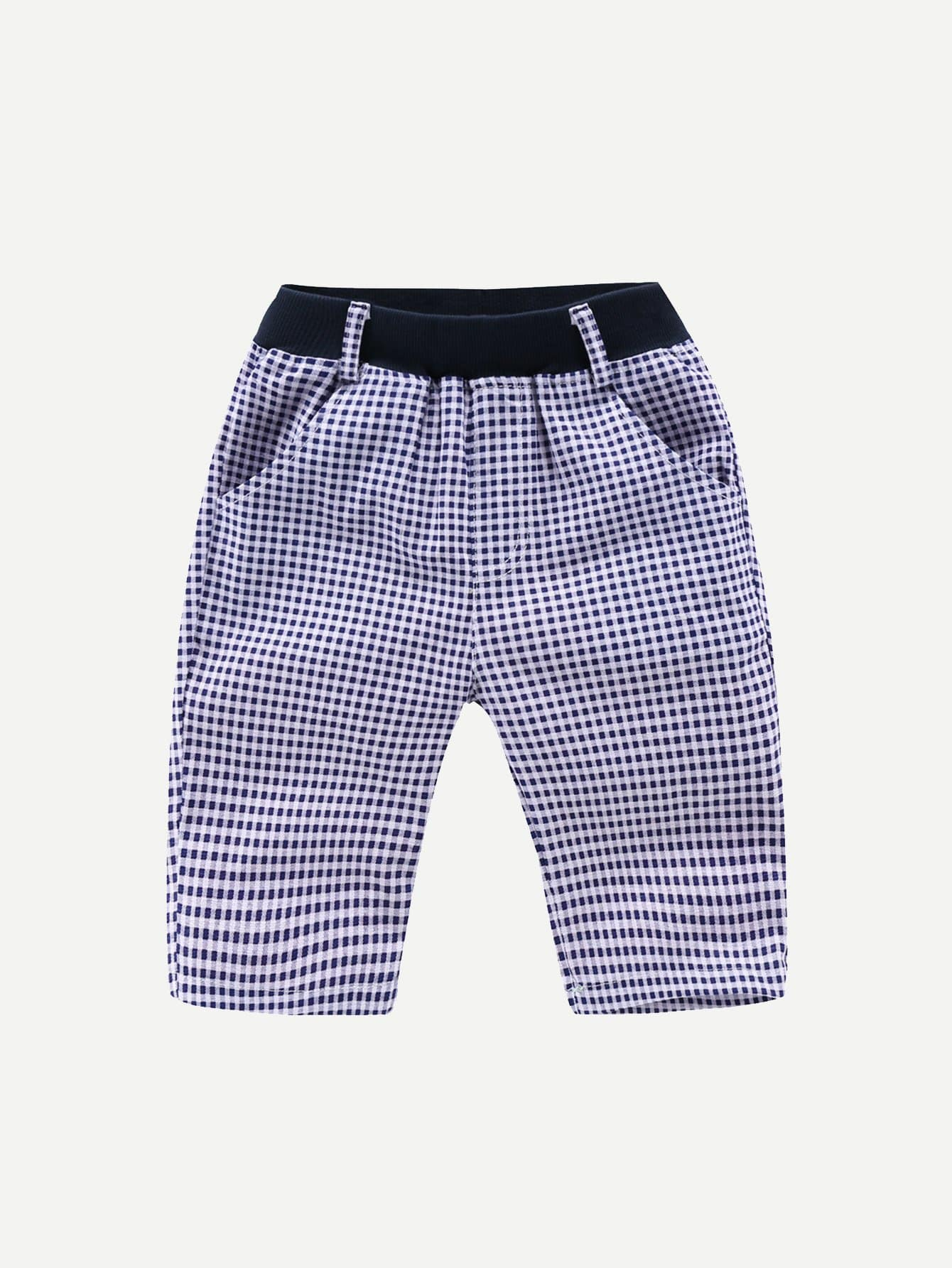 цены Boys Gingham Shorts