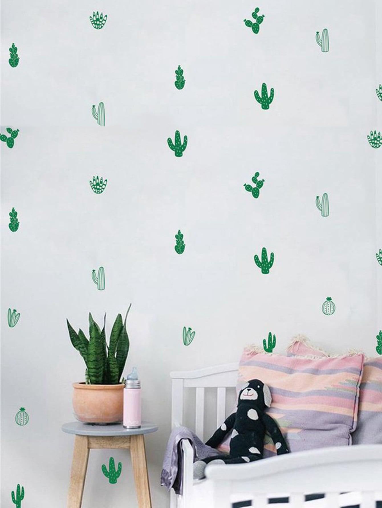 Cactus Decor Wall Sticker