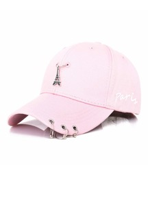 Embroidered Tower Baseball Cap