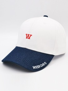 Embroidered Character Baseball Cap