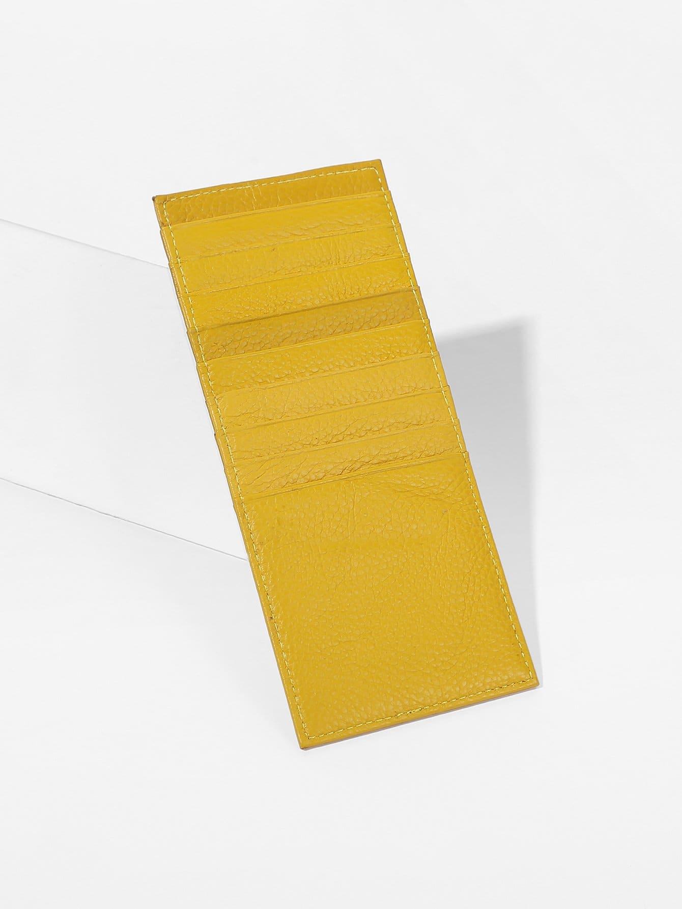 Купить Кошелькиипортмоне жёлтый Сумки, null, SheIn