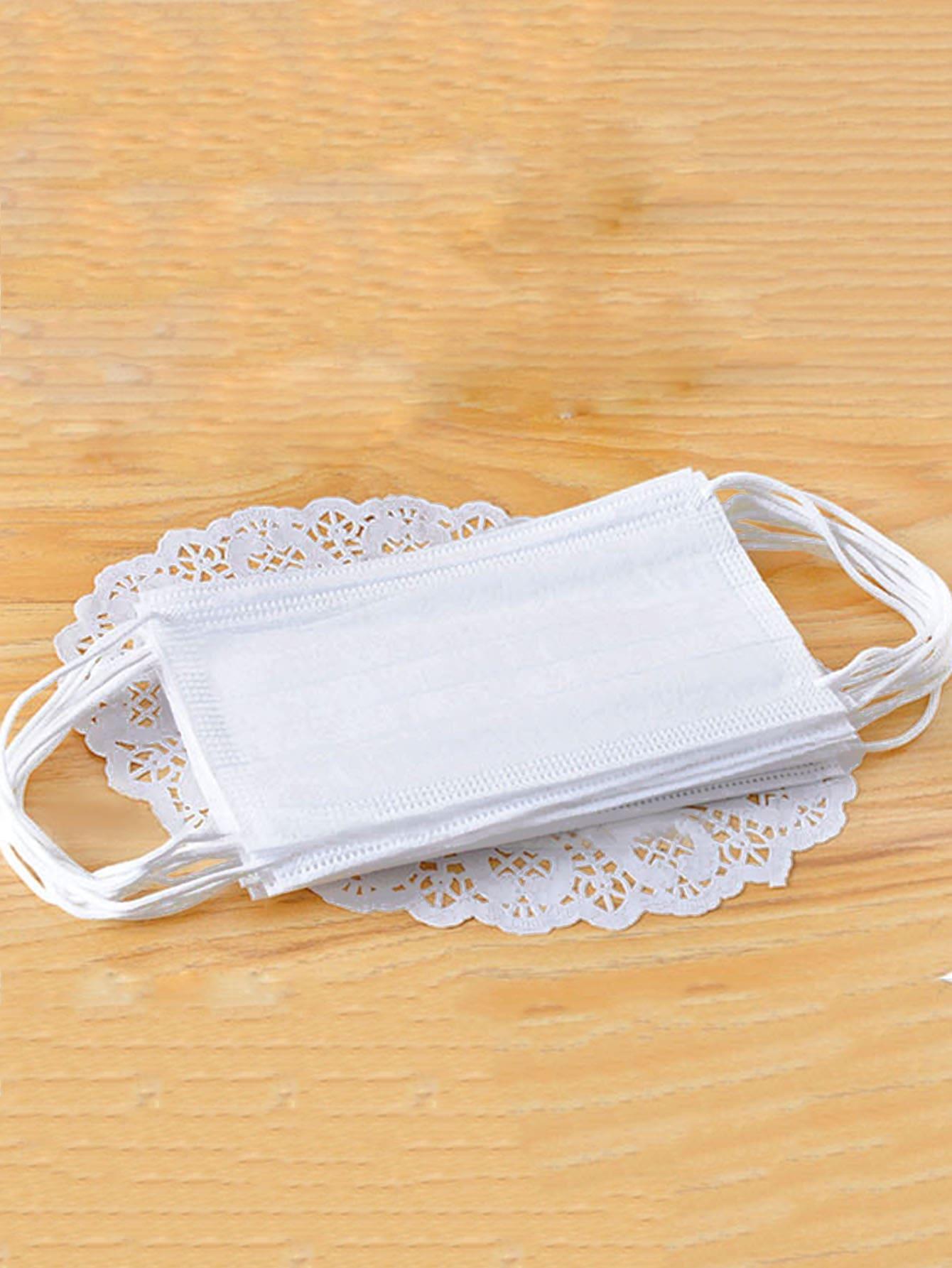 Купить Одноразовая пылезащитная маска 50шт., null, SheIn
