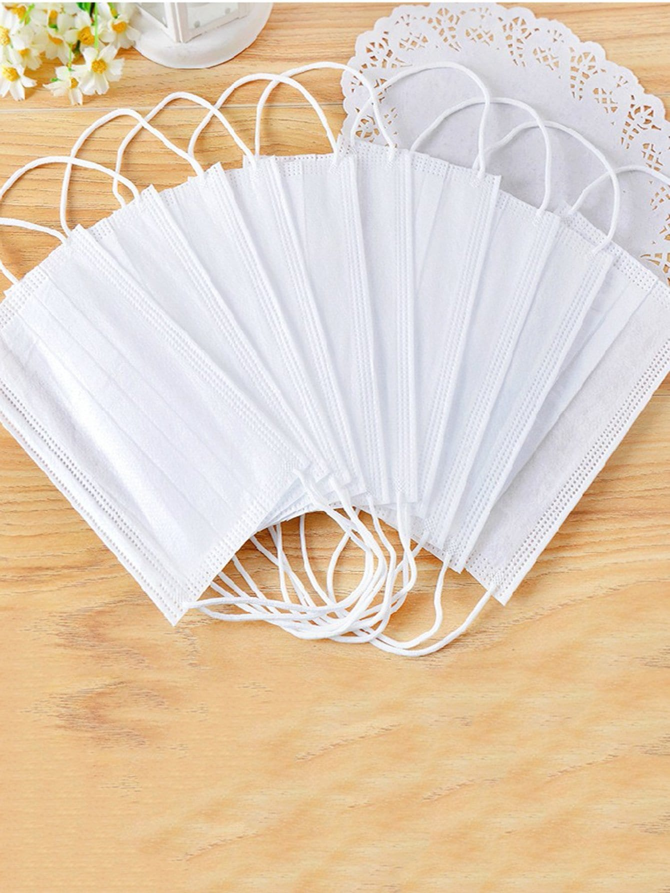 Disposable Dust Mask 10pcs provide the new goggles respirator dust mask configuration 10pcs filter cotton respirator mask silicone no smell mask