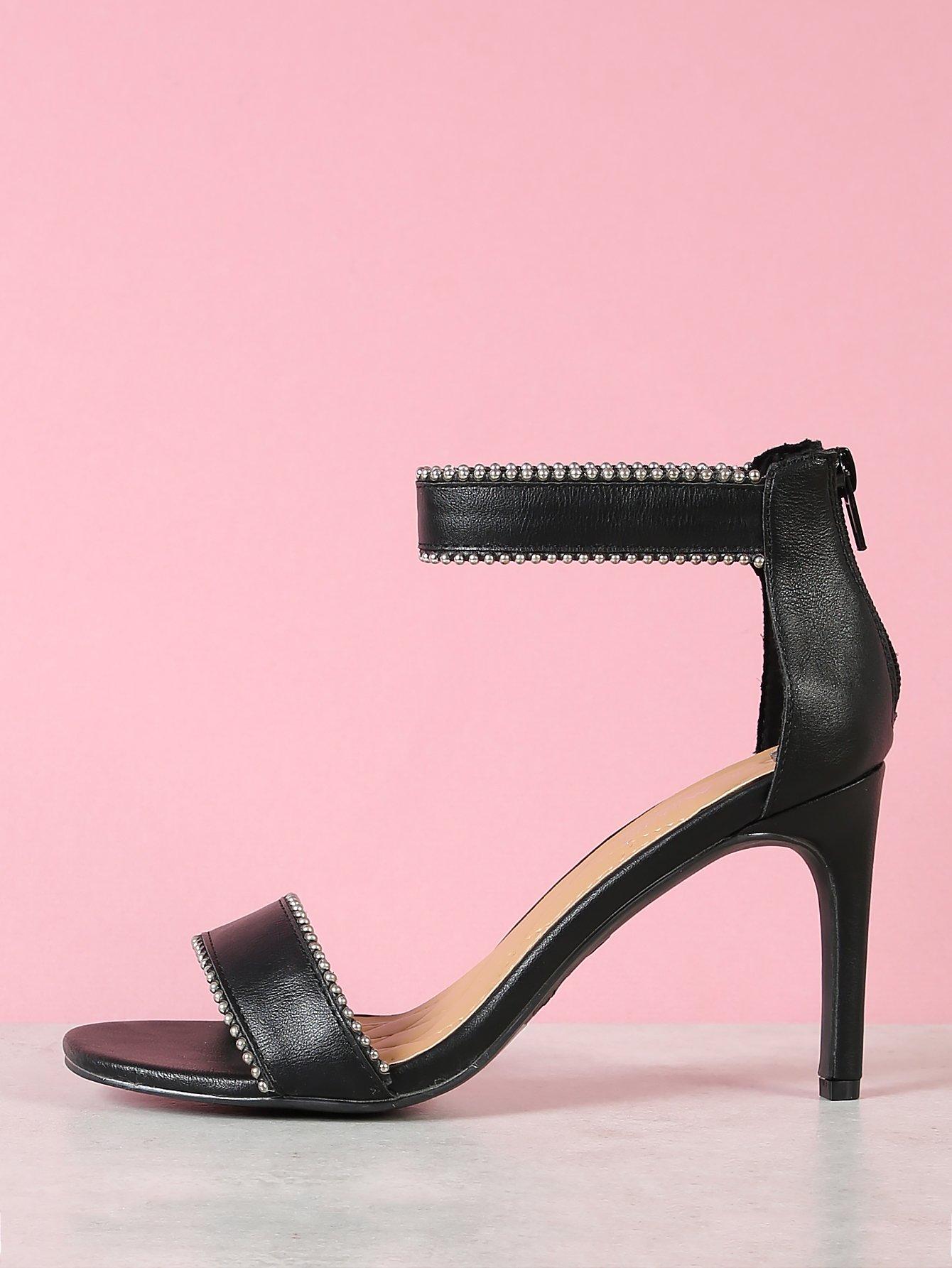 Beaded Ankle Strap Open Toe Single Sole Heels mix color causal wedge high heels women sandals platform ladies shoes open toe ankle strap womens heels size 11 women heels