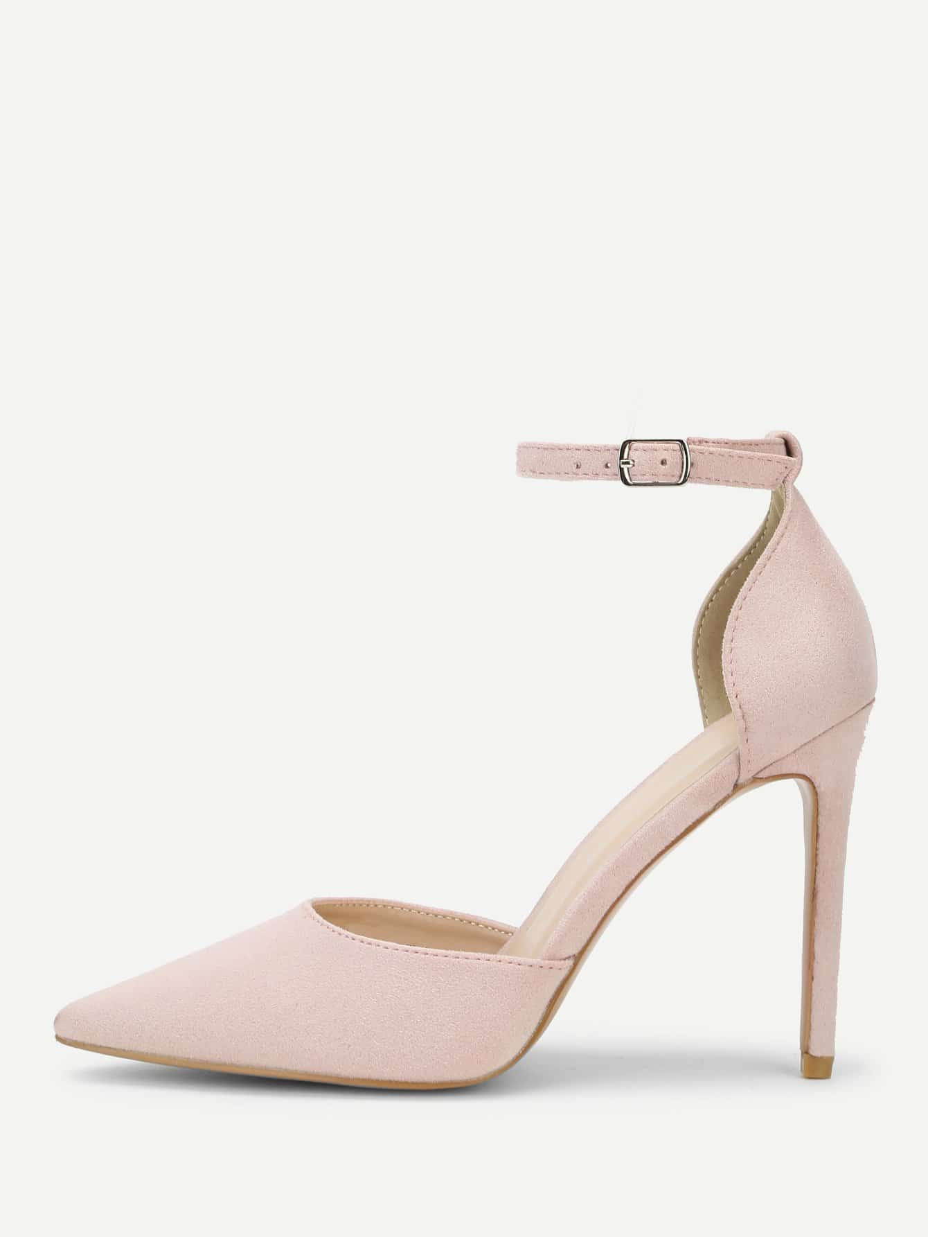 Pointed Toe Ankle Strap Stiletto Heels mix color causal wedge high heels women sandals platform ladies shoes open toe ankle strap womens heels size 11 women heels