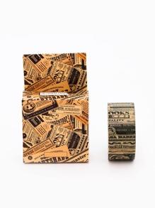 Letter Printed Masking Tape