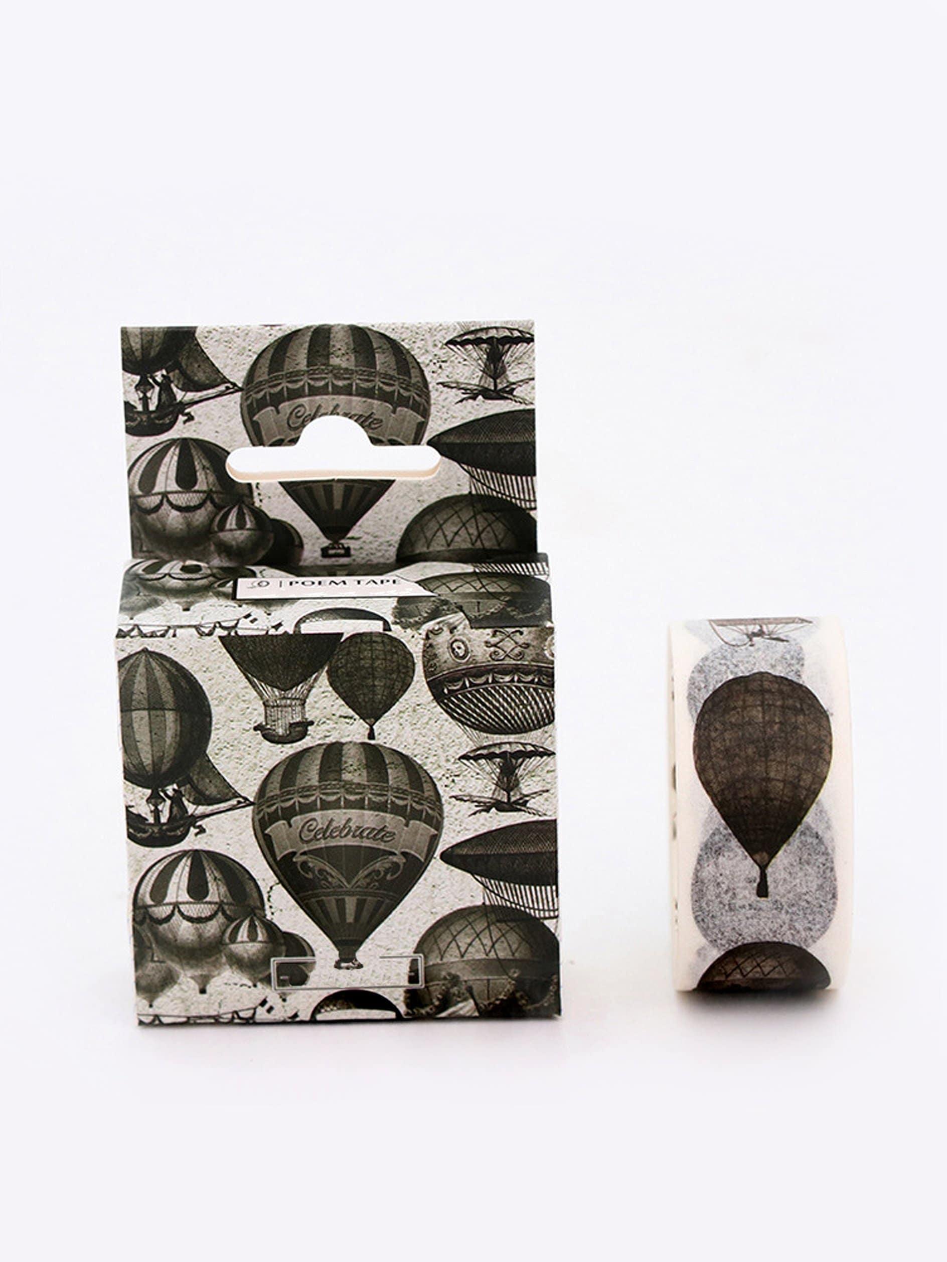 Hot Air Balloon Printed Masking Tape