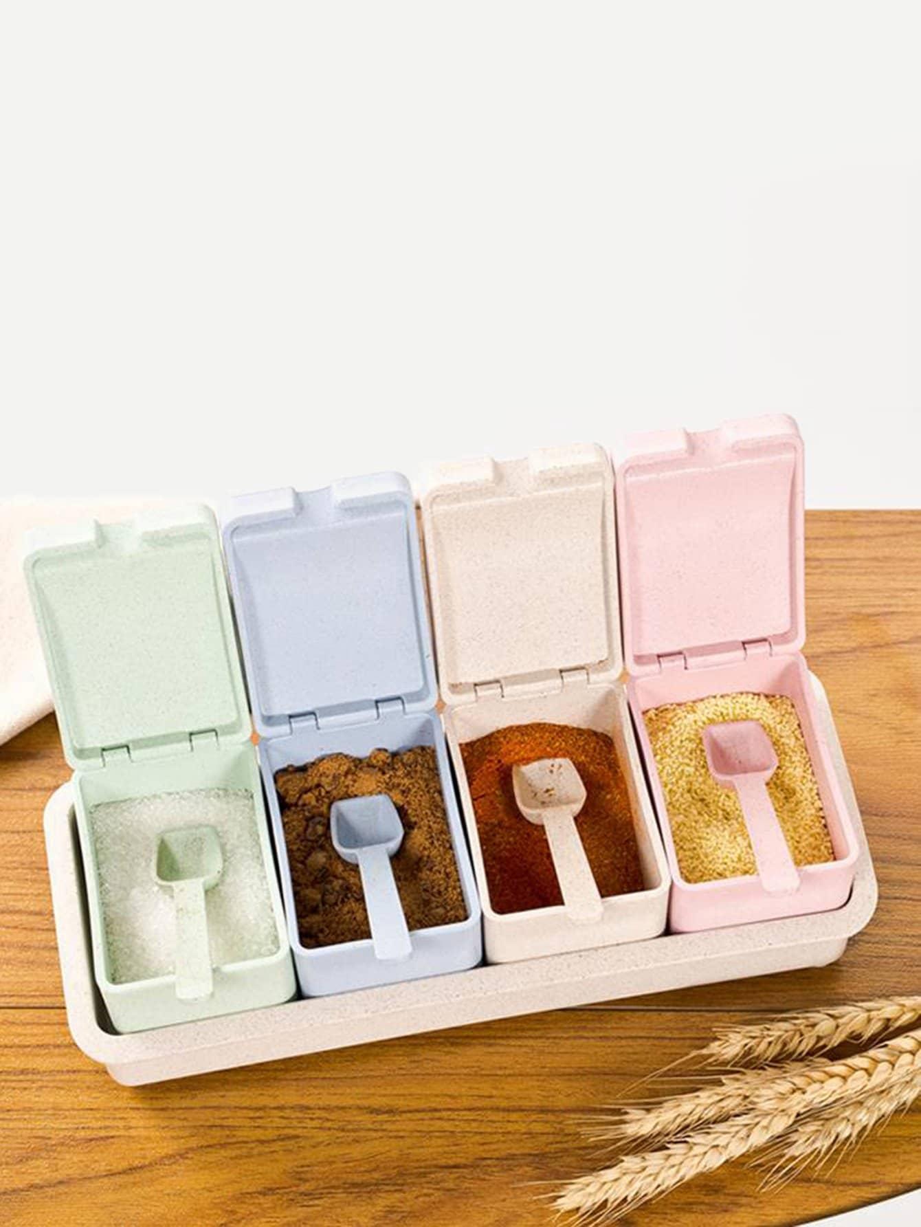 Купить Spice Container & Spoon, null, SheIn