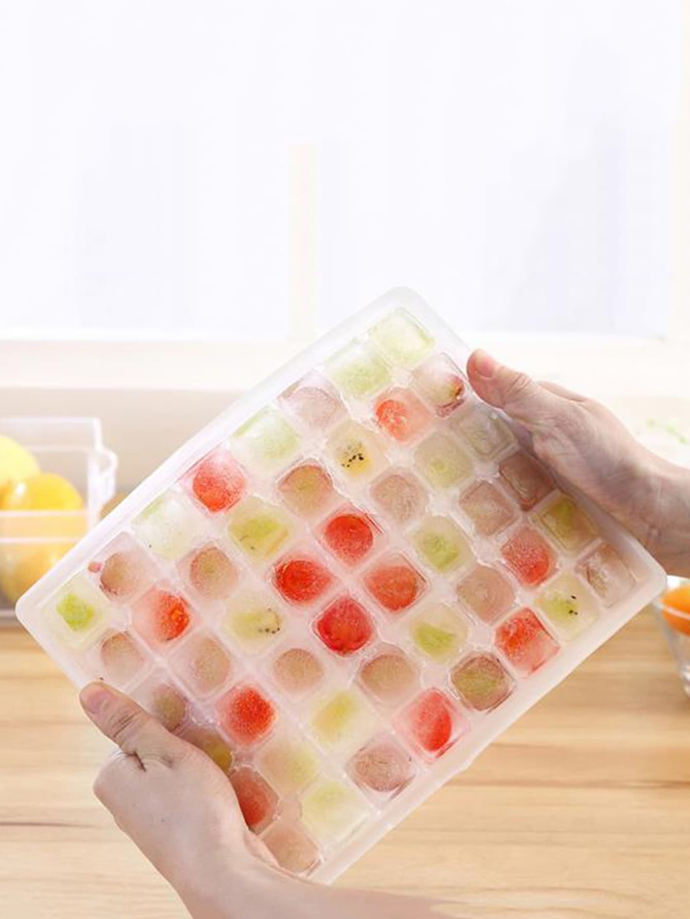 48 Lattice Ice Mold 1pc lattice ice mold