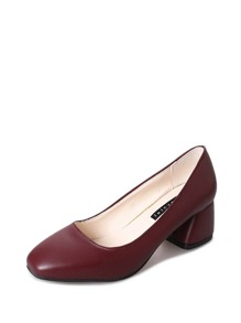 Pointed Toe Heeled Pumps