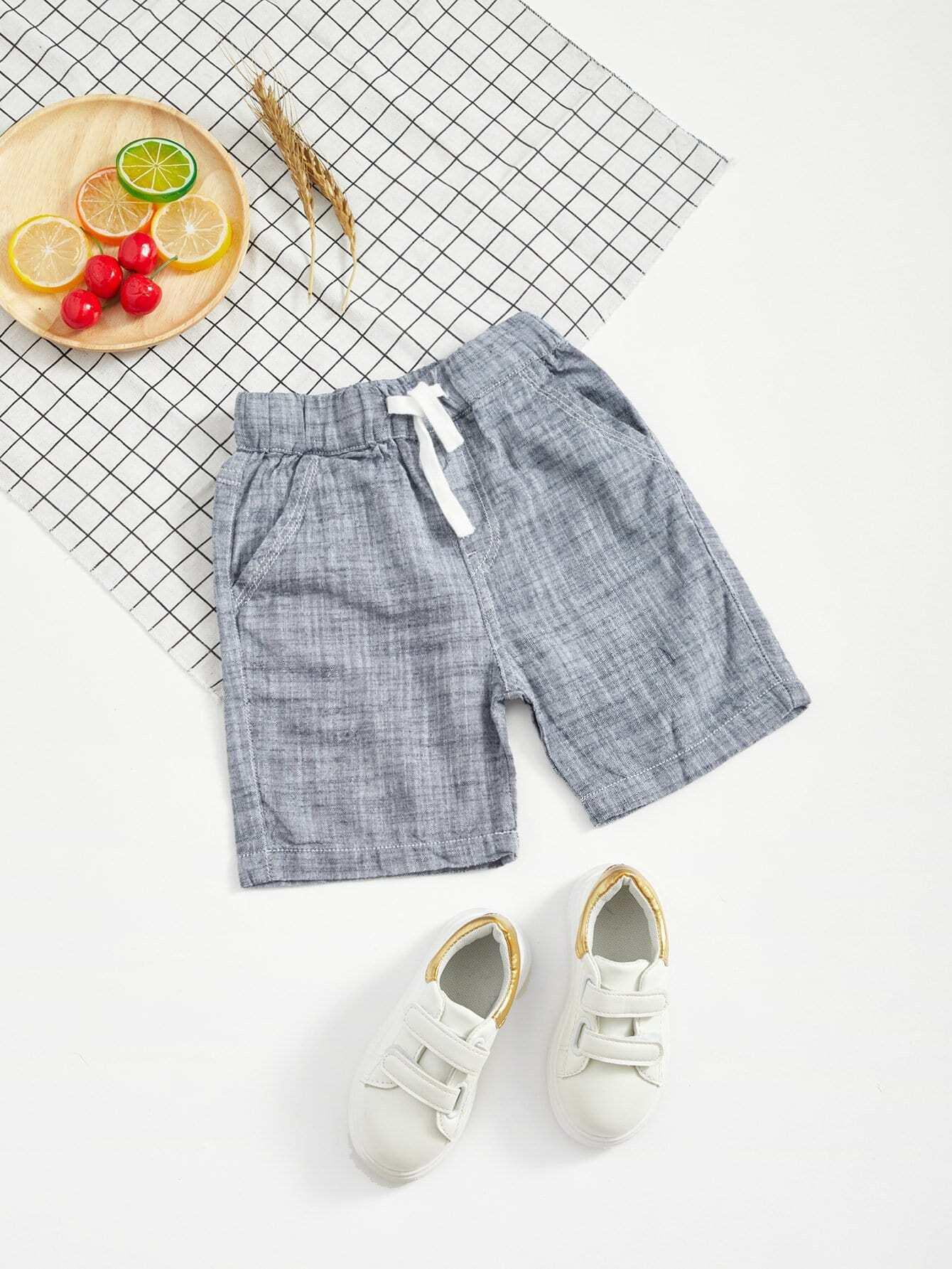 все цены на Boys Drawstring Waist Shorts