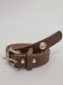 Grommet Design PU Belt