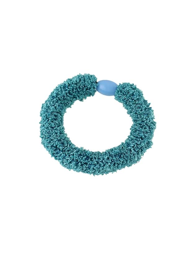 Green Wholesale Cheap Colorful Elastic Hair Rope Bands