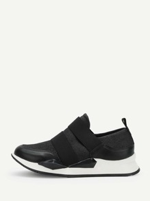 Low Top Velcro Sneakers