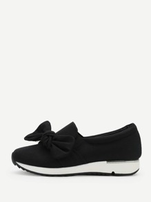 Knot Front Low Top Sneakers