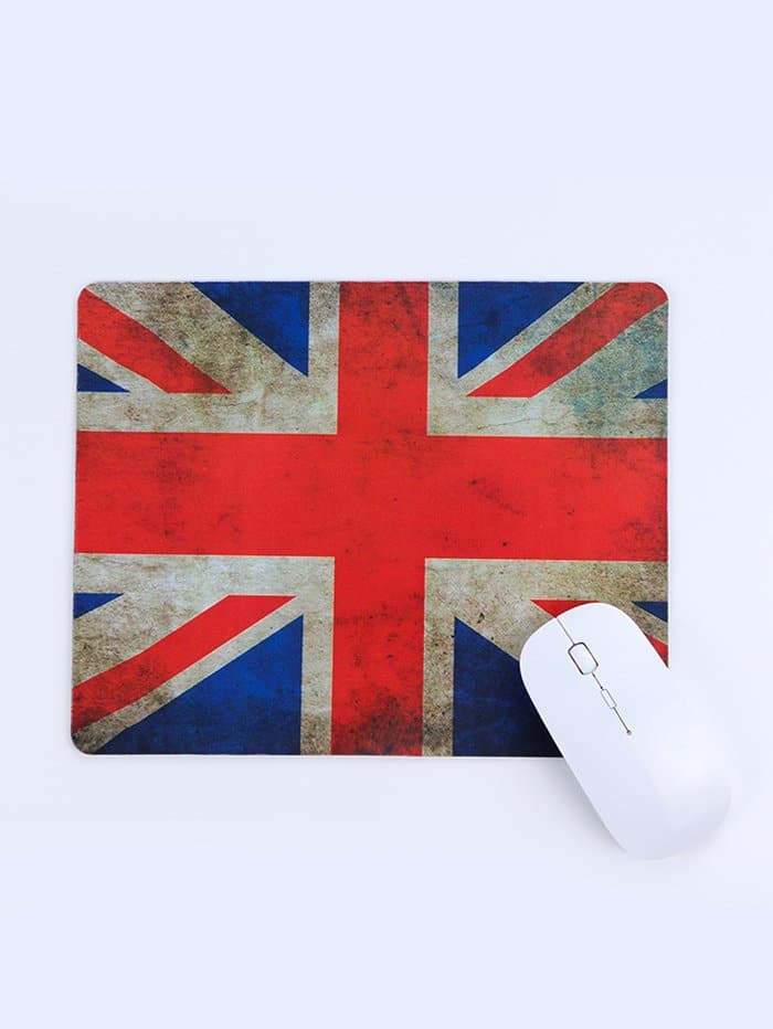 Rectangular Union Flag Mouse Pad