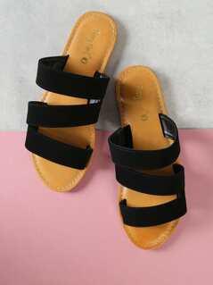 Asymmetric Strap Slides