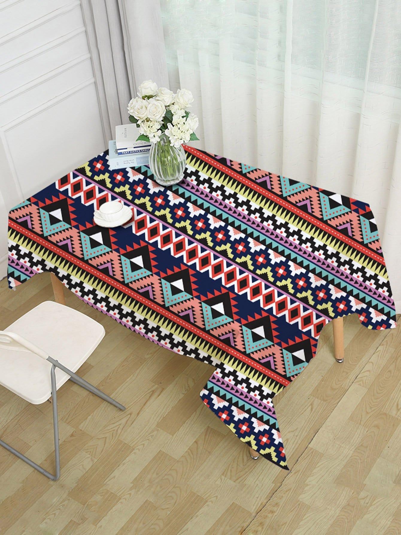 Aztec Print Table Cloth