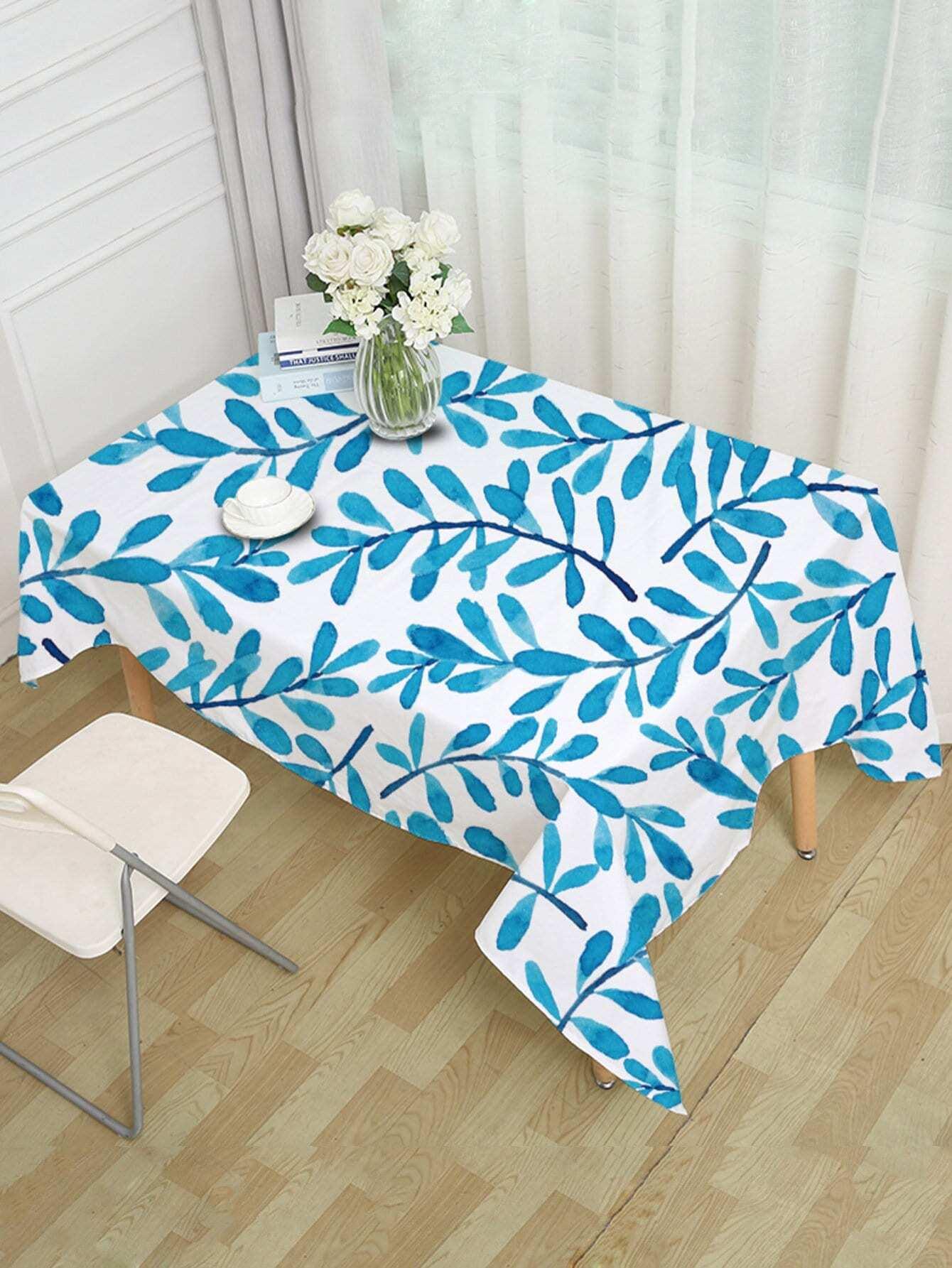Rattan Print Table Cloth