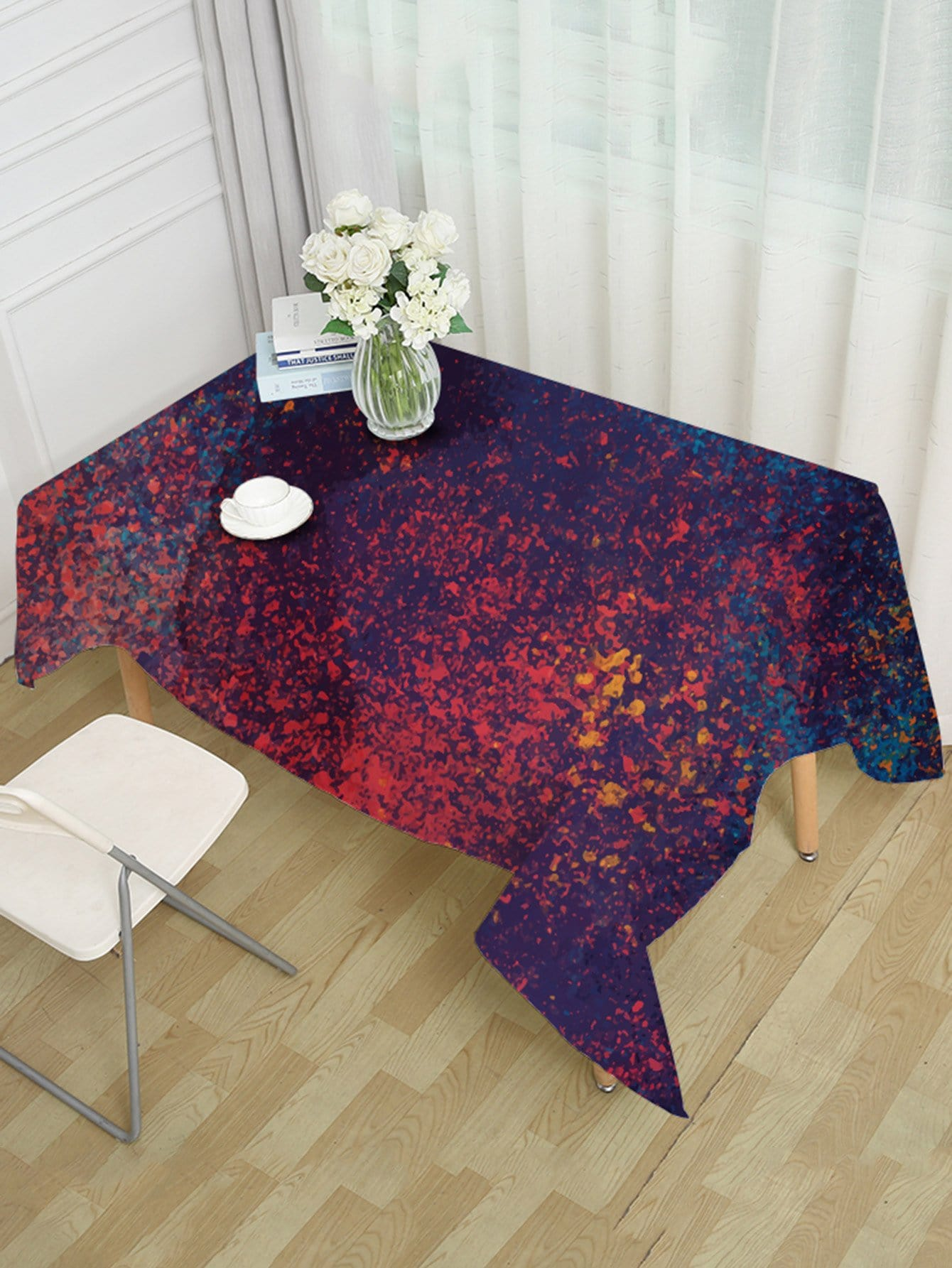 Fragment Pattern Table Cloth