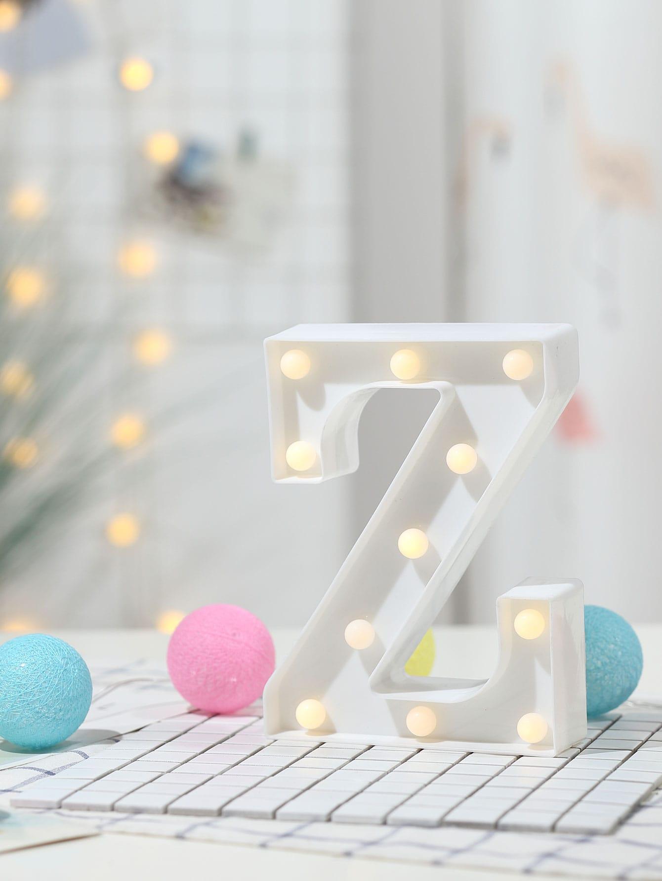 11pcs Bulb Z Shaped Table Lamp