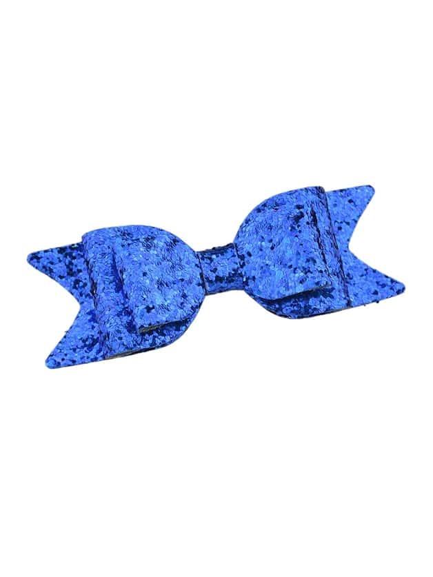 Blue Lovely Ribbon Bowknot Shape Hairpin Clip