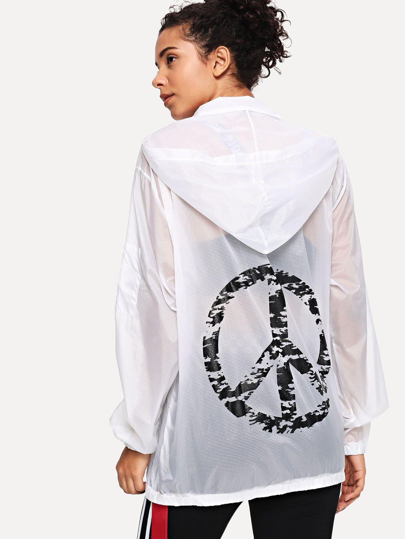 Купить Женские куртки с капюшоном, Starl Lane, SheIn