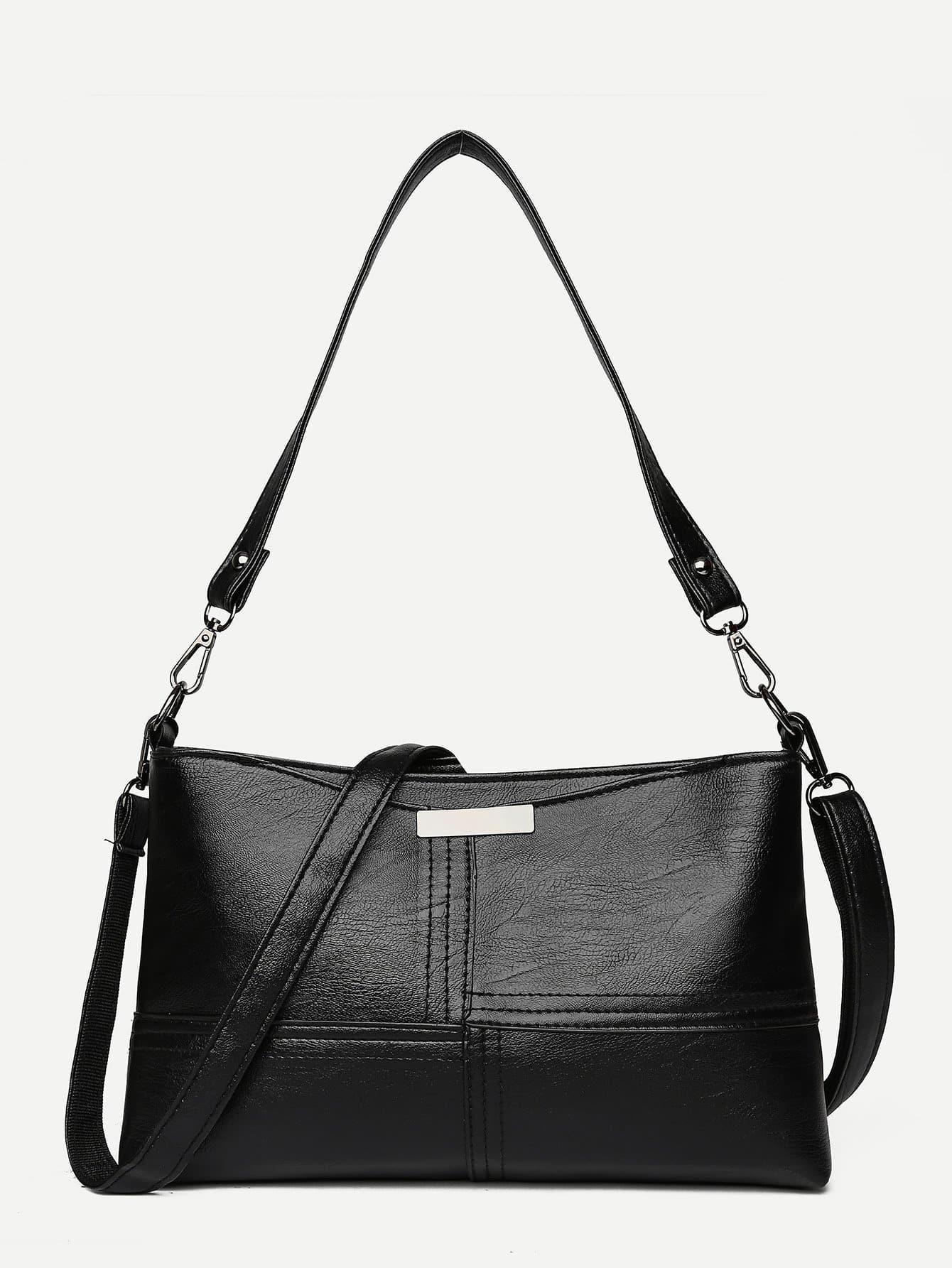 Купить Наплечные сумки чёрный Сумки, null, SheIn