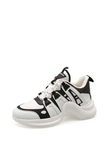 Lace-up Chunky Trainers