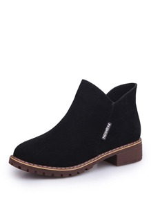 Lug Sole Ankle Boots