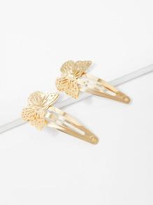 Butterfly Hair Clip 2pcs