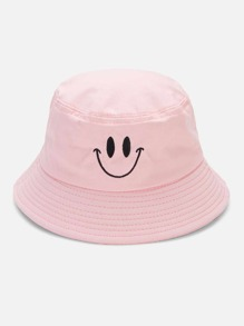 Embroidered Detail Bucket Hat