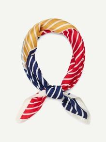 Striped Colorblock Bandana