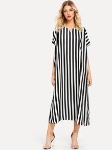 Striped Oversized Dress