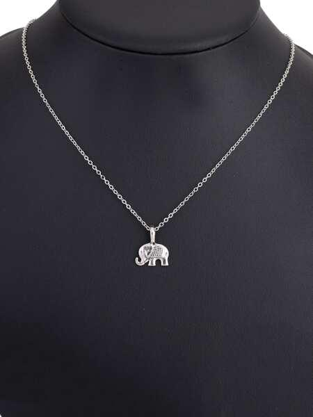Elephant Pendant Chain Necklace