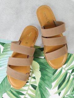 Three Band Slide Sandal