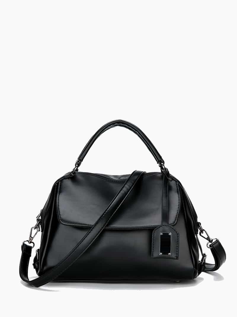 Купить Повседневная сумка через плечо с с кольцевой ручкой, null, SheIn