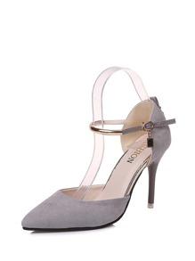 Ankle Strap Stiletto Heels