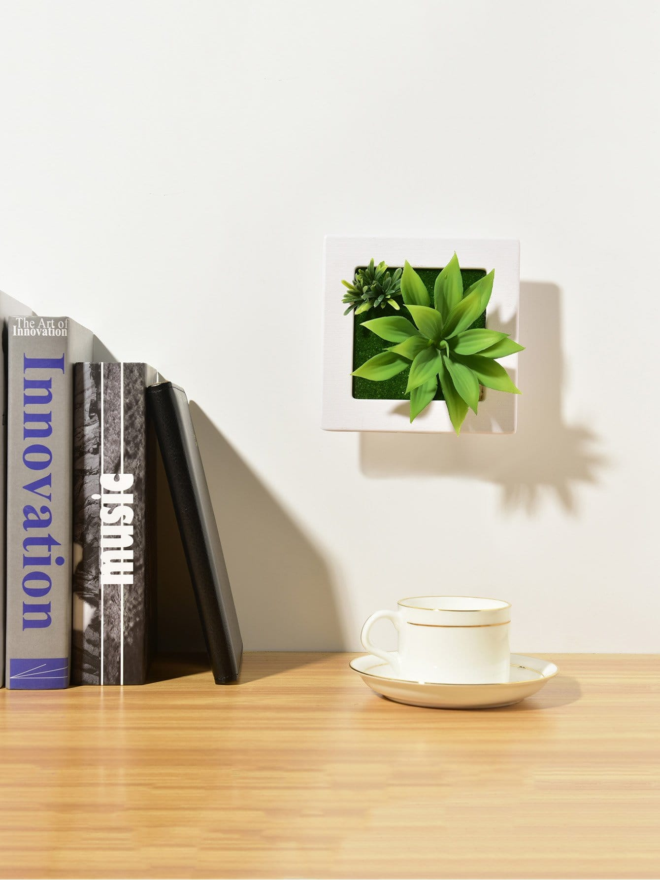 3D Artificial Wall Hanging Potted Plant